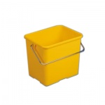 Ведро Vileda Pro 6л, прямоугольное, желтое, 500433