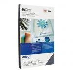 Обложки для переплета пластиковые Gbc High Clear прозрачные, А4, 150 мкм, 100шт
