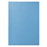 Обложки для переплета картонные Gbc LeatherGrain, А4, 250 г/кв.м, 100шт, голубые