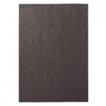 Обложки для переплета картонные Gbc LeatherGrain темно-серые, А4, 250 г/кв.м, 100шт