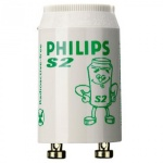 Стартер для люминесцентных ламп Philips S2 4-22Вт, 25шт/уп