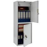 Шкаф металлический для документов Практик SL-125/2T бухгалтерский, 1252x460x340мм
