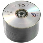 Диск CD-R Vs 700Mb, 52x, Bulk, 50шт/уп