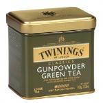 Чай Twinings Gunpowder, зеленый, листовой, 100г, ж/б