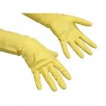 Перчатки резиновые Vileda Pro Контракт, желтые