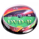 ���� DVD+R Vs Cake, 4,7Gb, 16x, 10��
