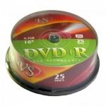 ���� DVD+R Vs Cake, 4,7Gb, 16x, 25��