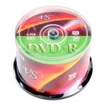 Диск DVD+R Vs 4.7Gb, 16x, Cake Box, 50шт/уп