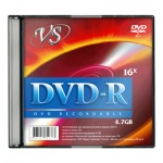 ���� DVD-R Vs Slim 4.7Gb, 16x, 5��/��
