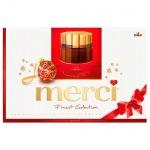 Конфеты Merci 8 видов шоколада, 400г