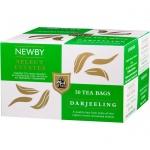 Чай Newby Darjeeling, черный, 50 пакетиков