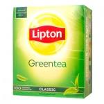Чай Lipton Classic, зеленый, 100 пакетиков