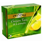 ��� Twinings Green, �������, Green Lemon, 50 ���������
