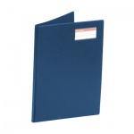 Папка пластиковая с зажимом Esselte синяя, А4, 17мм, 27345