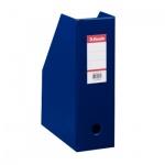 Накопитель вертикальный для бумаг Esselte А4, 100мм, синий, 56075
