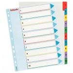 Цифровой разделитель листов Esselte Maxi, 10 разделов
