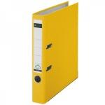 Папка-регистратор А4 Leitz желтая, 50 мм, 10151215
