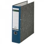 Папка-регистратор А4 Leitz, 80 мм, синяя