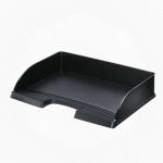 Лоток горизонтальный для бумаг Leitz Plus А4, черный, 52180095