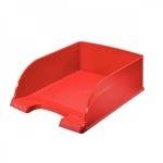 Лоток горизонтальный для бумаг Leitz Plus Jumbo A4, красный