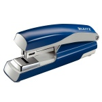 Степлер Leitz №24/6, 26/6, до 30 листов, синий, +200 скоб, 5505, синий