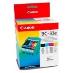 Картридж струйный Canon BC-33e, 4 цвета