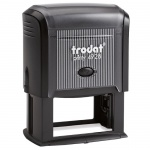 Оснастка для прямоугольной печати Trodat Printy 60х33мм, черная, 4928