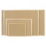 Доска пробковая Magnetoplan 121923 60х80см, коричневая, деревянная рама