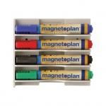 Держатель для маркеров Magnetoplan 12294 белый, горизонтальный
