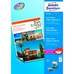 Бумага для принтера Avery Zweckform Премиум А4, 100 листов, 210x297мм, 250г/м2, белая суперглянцевая, 2498