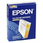 Картридж струйный Epson C13 S020122, желтый