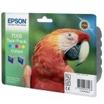 Картридж струйный Epson C13 T00840310, 5 цветов, 2шт/уп