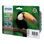 Картридж струйный Epson C13 T00940210, 5 цветов, 2 шт/уп