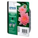 Картридж струйный Epson, черный, 2шт/уп.