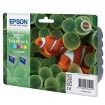 Картридж струйный Epson, цветной 2шт/уп.