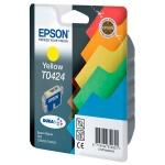 Картридж струйный Epson C13 T042440, желтый