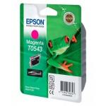 Картридж струйный Epson C13 T054340, пурпурный