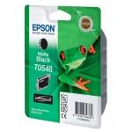 Картридж струйный Epson C13 T054840, черный матовый