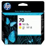 Печатающая головка Hp 70 C9406A, пурпурная+желтая
