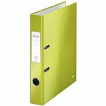 Папка-регистратор А4 Leitz 180° Wow зеленая, 50 мм, 10060064