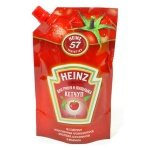 Кетчуп Heinz, 350г, пакет, для гриля и шашлыка