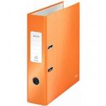 Папка-регистратор А4 Leitz 180° Wow оранжевая, 80 мм, 10050044