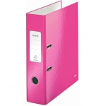 Папка-регистратор А4 Leitz 180° Wow, 80 мм, розовая