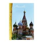 Тетрадь общая Attache Москва, А4, 96 листов, в клетку, на скрепке, мелованный картон