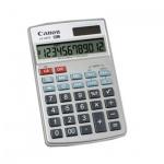 Калькулятор карманный Canon LS-22TC серебристый, 12 разрядов