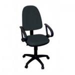 Кресло офисное Бюрократ CH-300AXSN ткань, крестовина пластик, черное