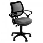 Кресло офисное Бюрократ CH-799 ткань, серая, TW, крестовина пластик