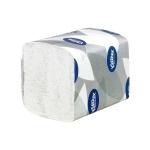 Туалетная бумага Kimberly-Clark Kleenex Ultra 8409, листовая, 200шт, 2 слоя, белая
