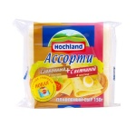 Сыр плавленый Hochland сливочный-ветчина, 40%, 150г