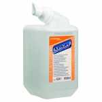 Пенное мыло в картридже Kimberly-Clark Kimcare 6341, 1л, антибактериальное, прозрачное